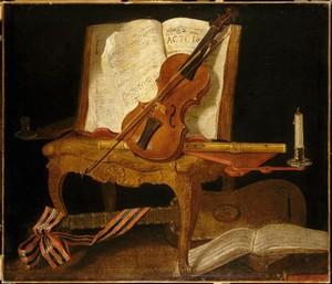La musique dans la peinture - Page 3 Oudry_10