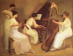 La musique dans la peinture - Page 2 Salvad12
