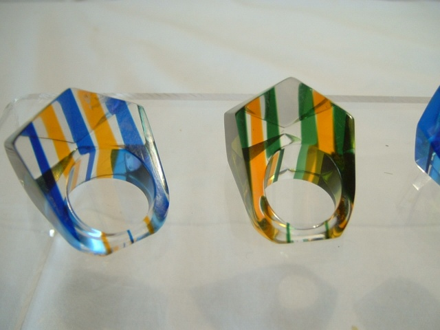 Lucite Rings 00215