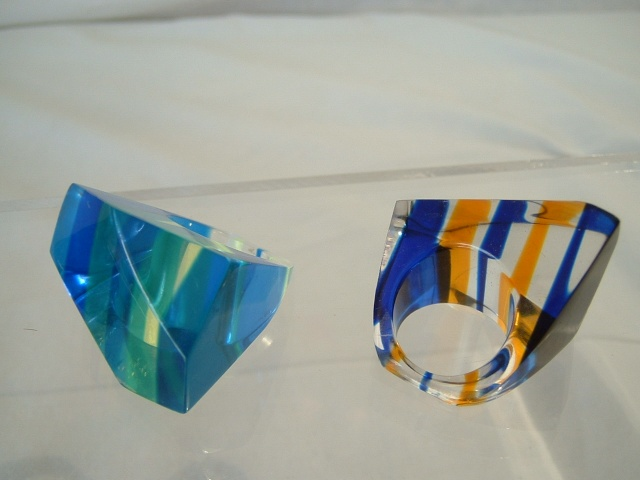 Lucite Rings 00311