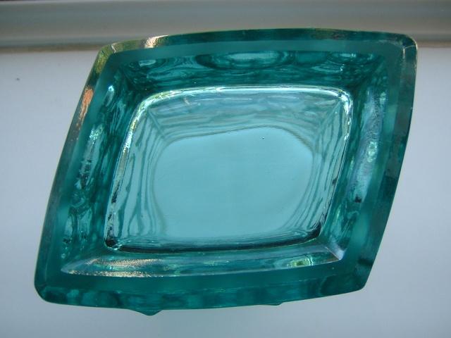 Sklo union glass vase = ID: Jiri Brabec for Rosice in 1969 05311