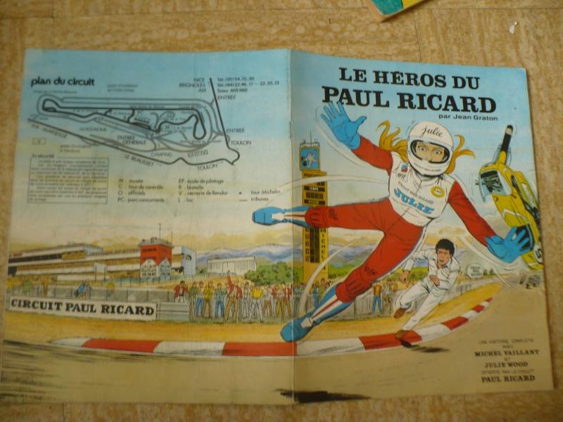 le héros du Paul Ricard Julie Wood, Michel Vaillant 1972 00715