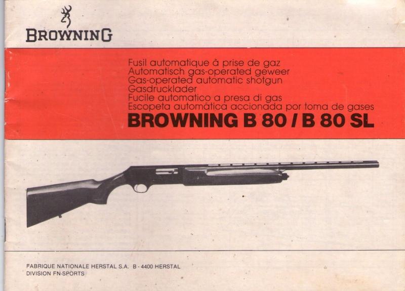 browning B80 Browni10