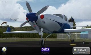 OrbX lança Lancair IV-P Orb-6010