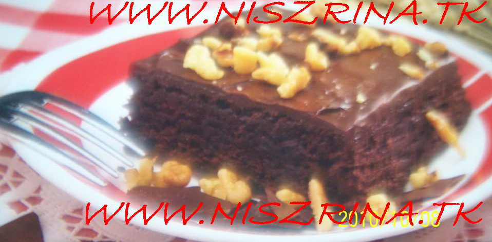Negresa cu ciocolata وصفة لذيذة جداً  Negres11