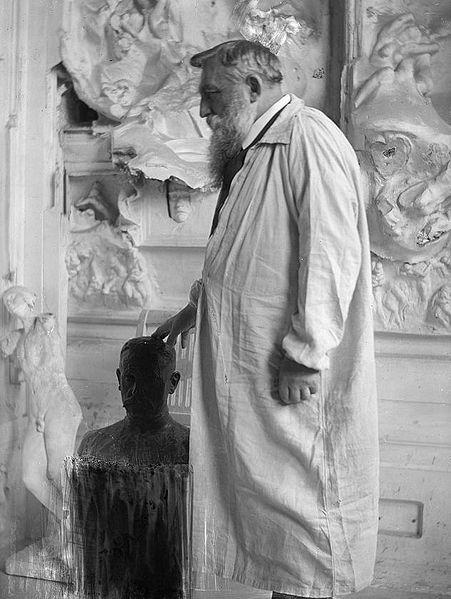 Rodin inspire Sandipoete - Le penseur de Rodin pense August10