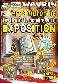 "14 au 17 octobre 2010 ""Art d'autimne Made in USA"" @ Wavrin 50236_10"