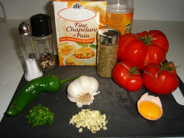 tomates à la provencale au piment frais , doux Ingred10