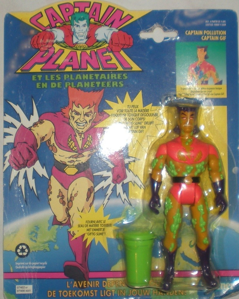 CAPTAIN PLANET  (Tiger)  1991 Ghghgh10