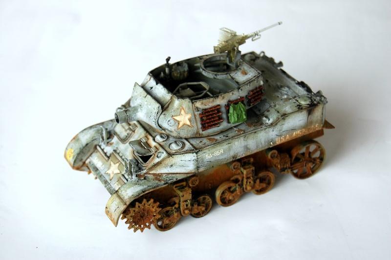 peinture - M-8 Gun motor carriage - Char terminé Dsc_0017