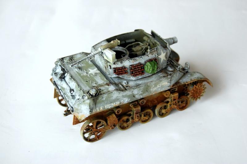 peinture - M-8 Gun motor carriage - Char terminé Dsc_0020
