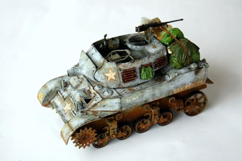 peinture - M-8 Gun motor carriage - Char terminé Dsc_0021