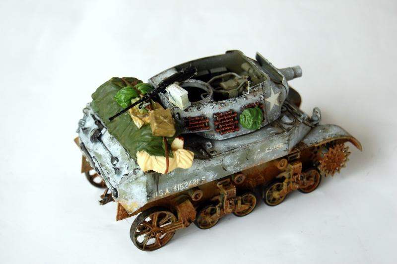 peinture - M-8 Gun motor carriage - Char terminé Dsc_0022