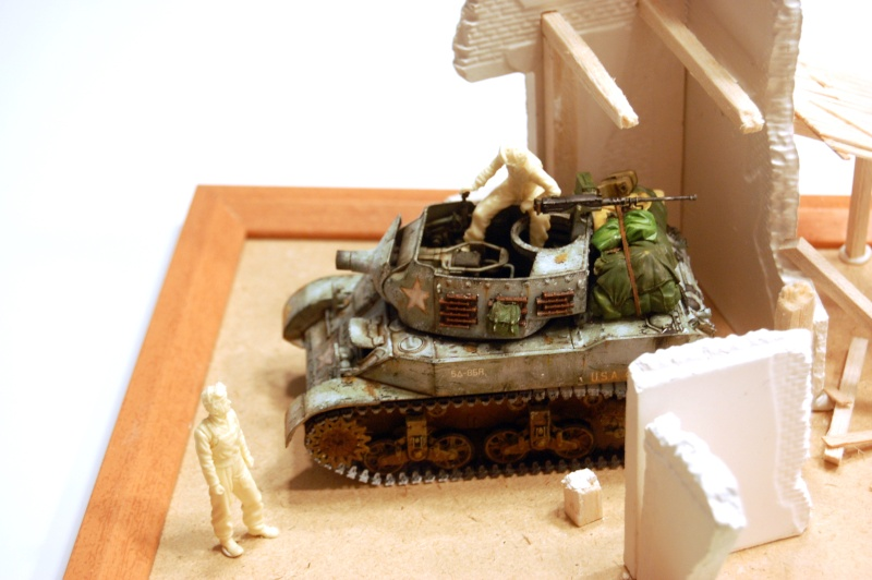 peinture - M-8 Gun motor carriage - Char terminé Dsc_0026