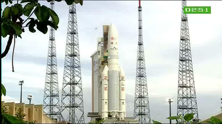 Ariane 5 ECA VA202/ GSAT 8 + ST2 (20.05.2011)   Vlcsna34