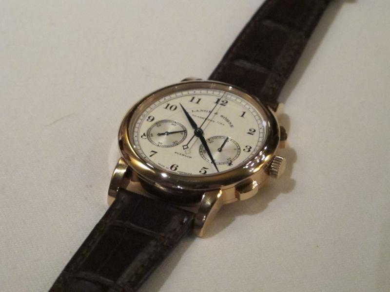 Lange & Söhne new chrono 1815 vs Datograph Img_5326