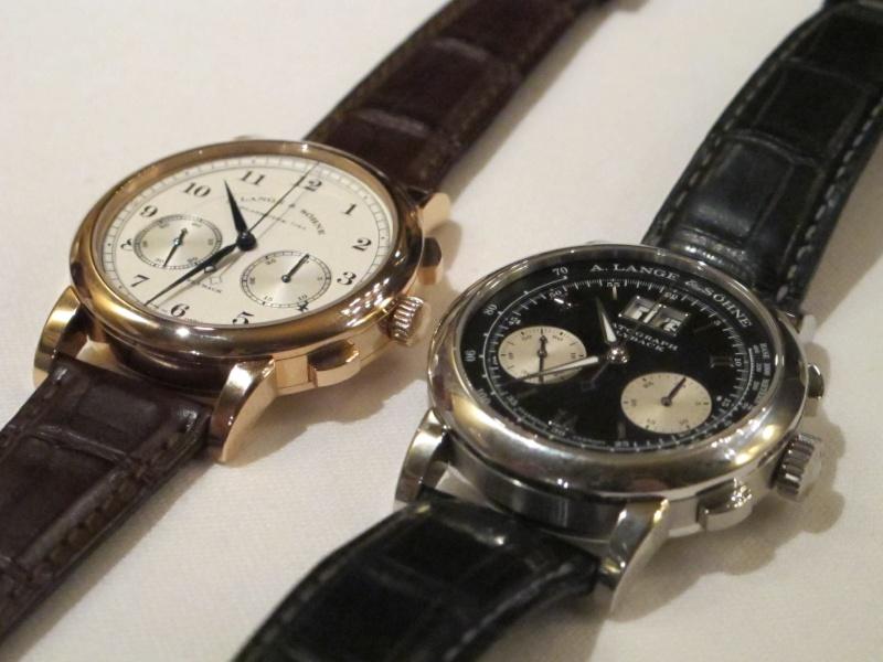 Lange & Söhne new chrono 1815 vs Datograph Img_5327