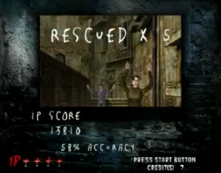 [Jeux Rétrolympiques 2015] Round 3 : The House of the Dead II Score10