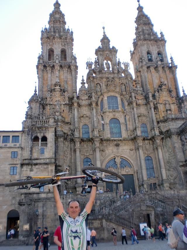 Foreros en Santiago de Compostela Cimg6412