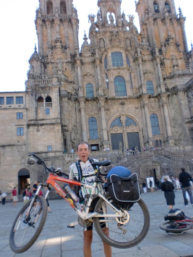 Foreros en Santiago de Compostela Cimg6413