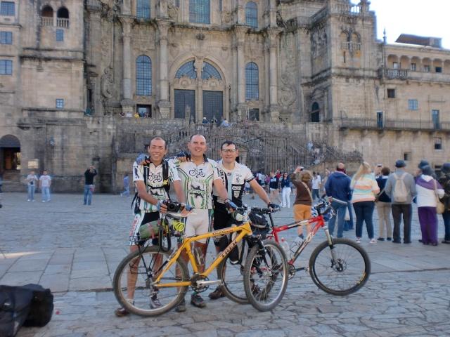 Foreros en Santiago de Compostela Cimg6414