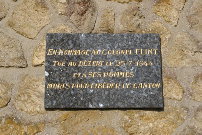 Monument WW2 - Le Dezert ( Normandie ) Dsc06325