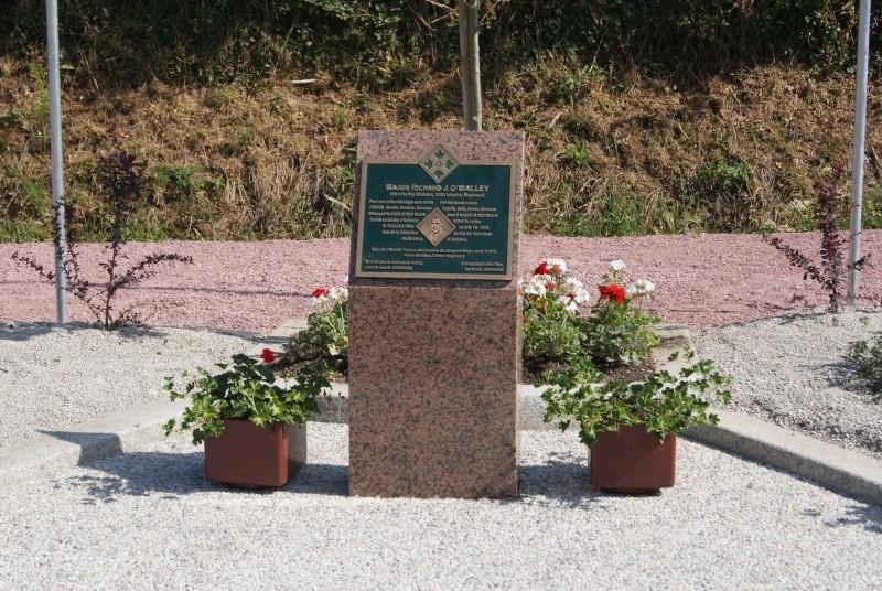 Monument WW2 - Sainteny ( Normandie ) Dsc06336