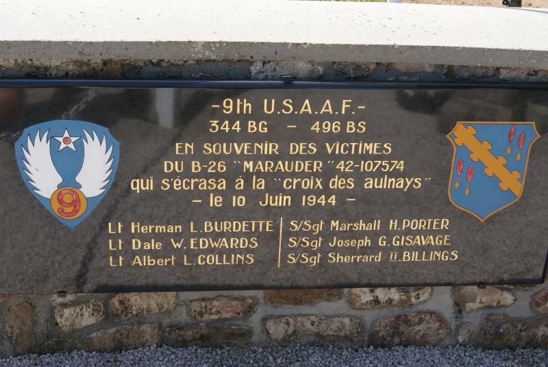 Monument WW2 - Magneville ( Normandie ) Dsc06417
