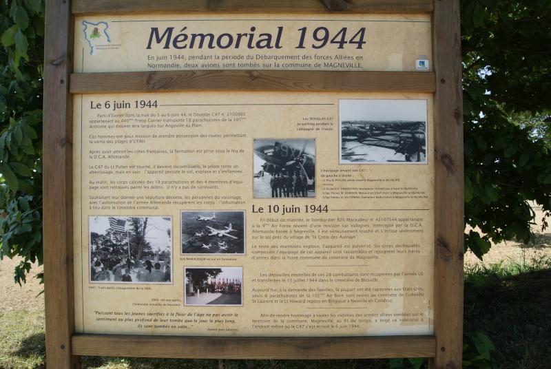 Monument WW2 - Magneville ( Normandie ) Dsc06418