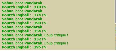 Sahua pandawa a dominance air level 143. Pandat10