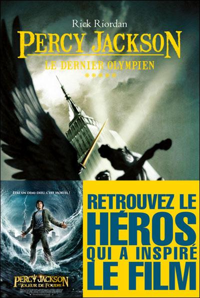 PERCY JACKSON (Tome 5) LE DERNIER OLYMPIEN de Rick Riordan 97822212