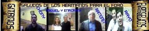 SALUDO DE LOS HERMANOS PARA EL FORO