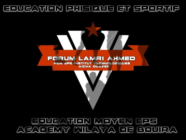 FORUM LAMRI AHMED PEM EPS