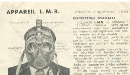 les masques à gaz DP Lmb10