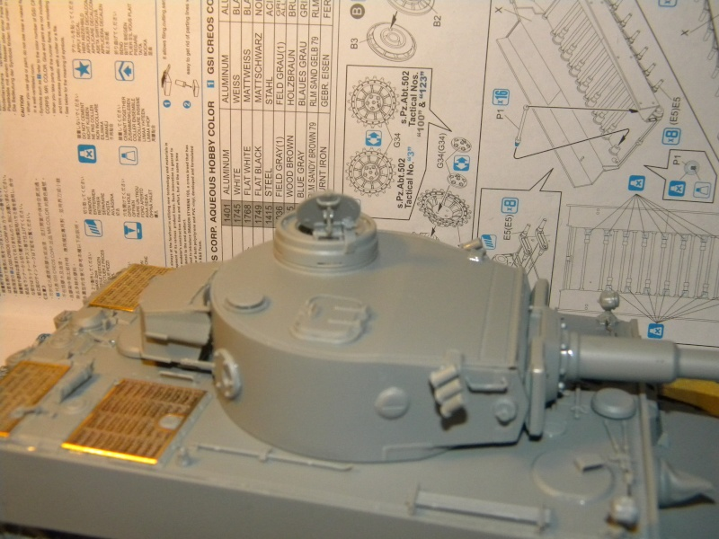 Tigre I,projet terminé  Tigre125