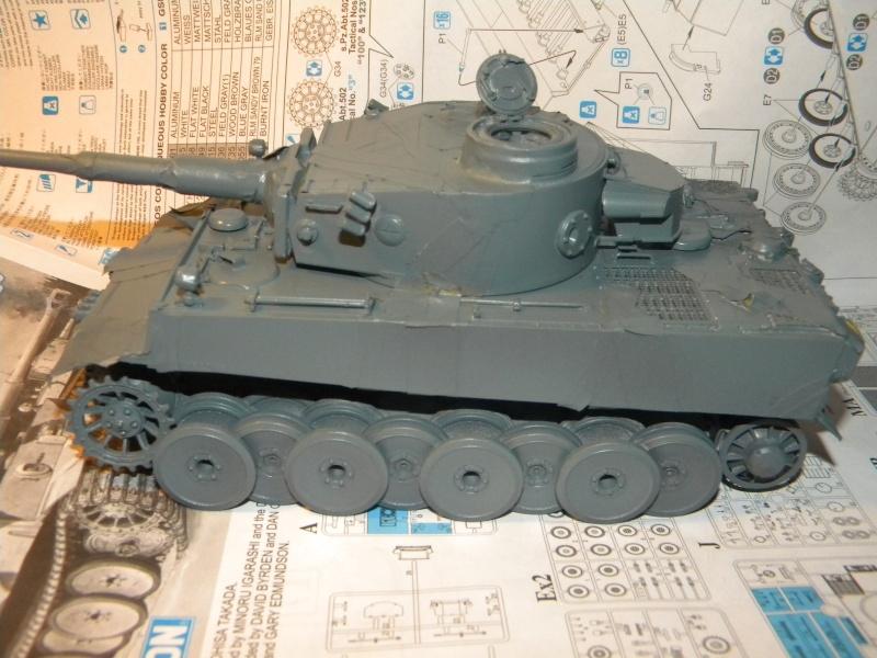 Tigre I,projet terminé  Tigre130