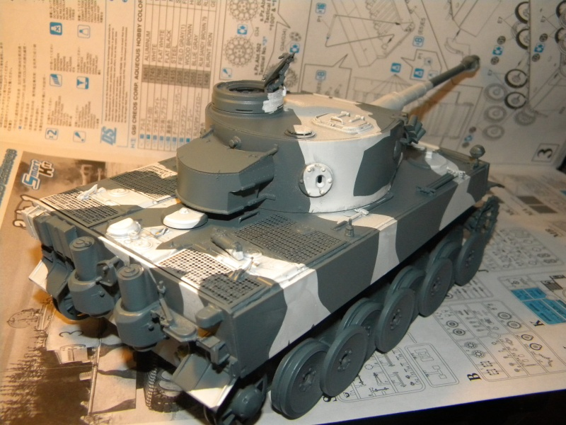 Tigre I,projet terminé  Tigre133
