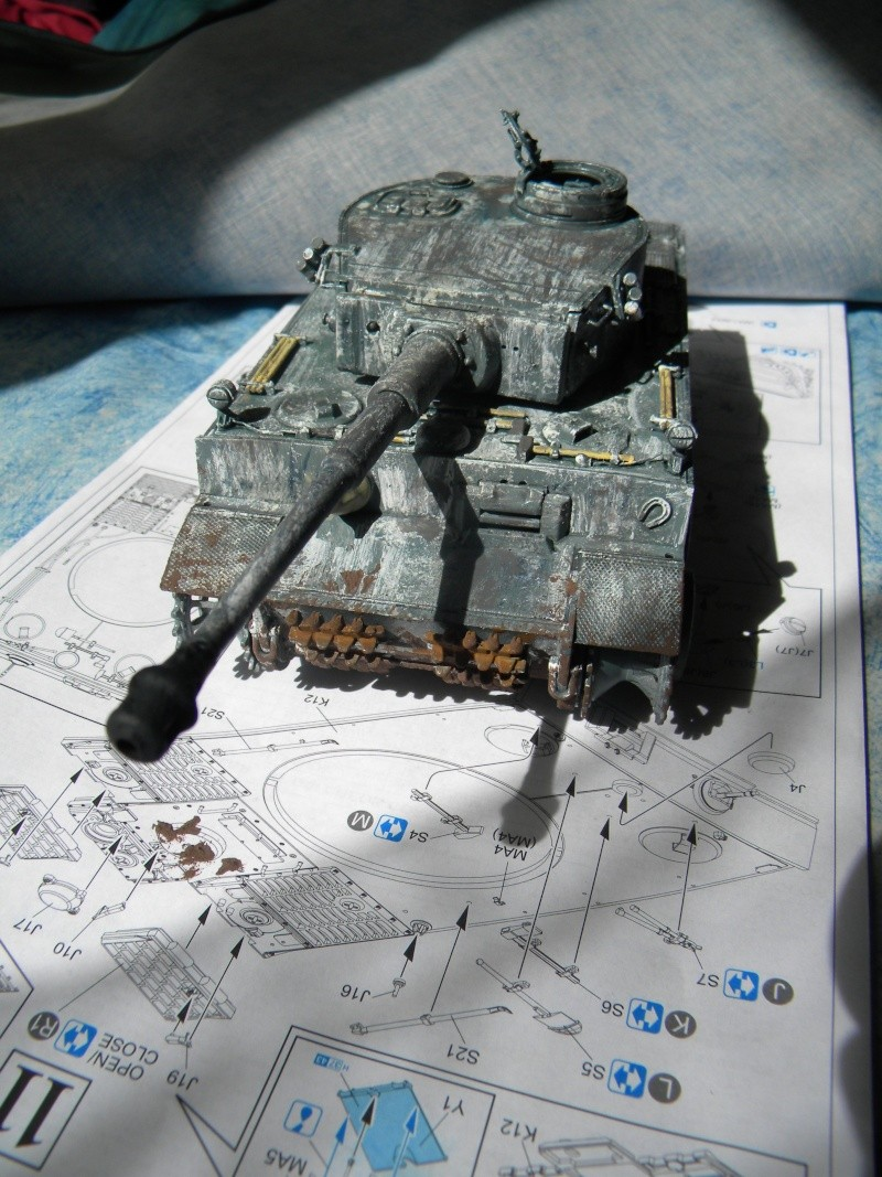 Tigre I,projet terminé. - Page 3 Tigre148