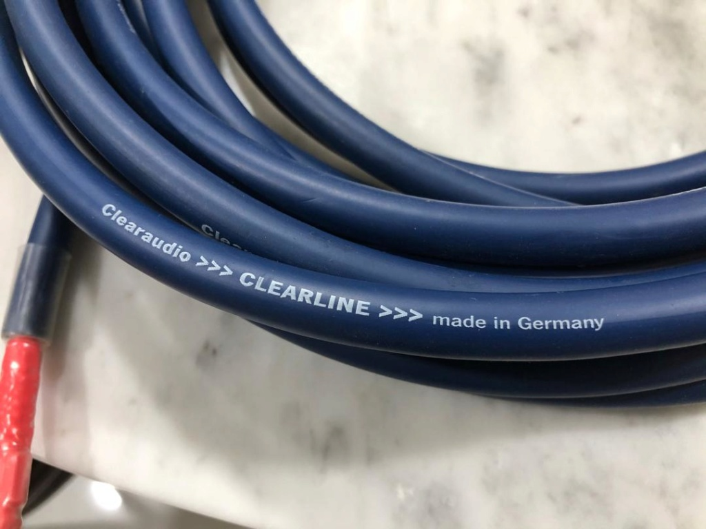 ClearAudio Clearline Speaker Cable Ca-cl210