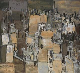 Peinture non-figurative E1-aks10