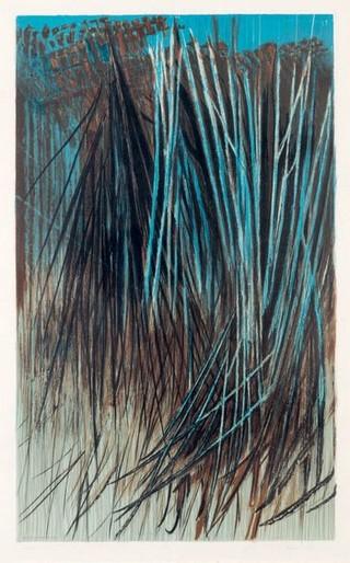 Peinture non-figurative E17-ha11