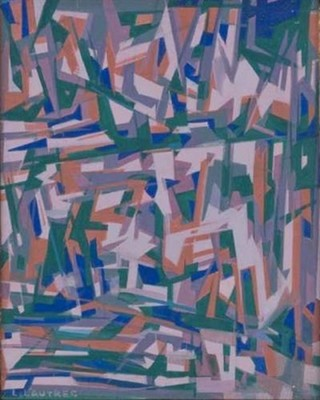 Peinture non-figurative E22-la10