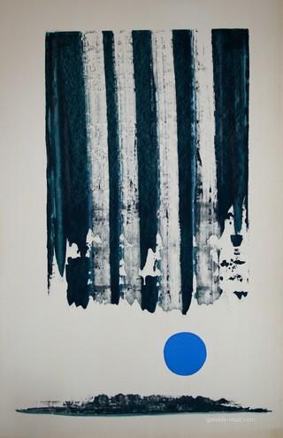 Peinture non-figurative E23-le10