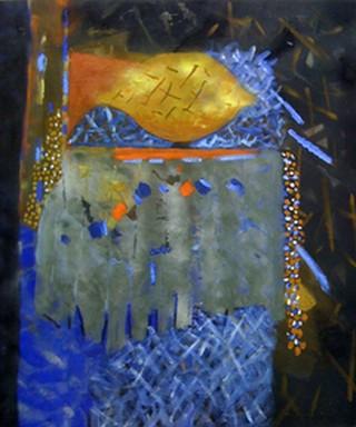 Peinture non-figurative E24-lo10