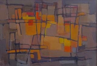 Peinture non-figurative E26-ma10