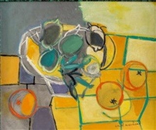 Peinture non-figurative E27-ma10