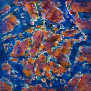 Peinture non-figurative E28-le10