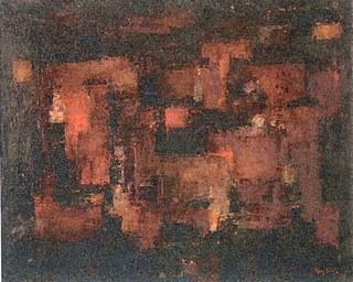 Peinture non-figurative E33-si10
