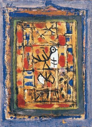 Peinture non-figurative E7-bis10