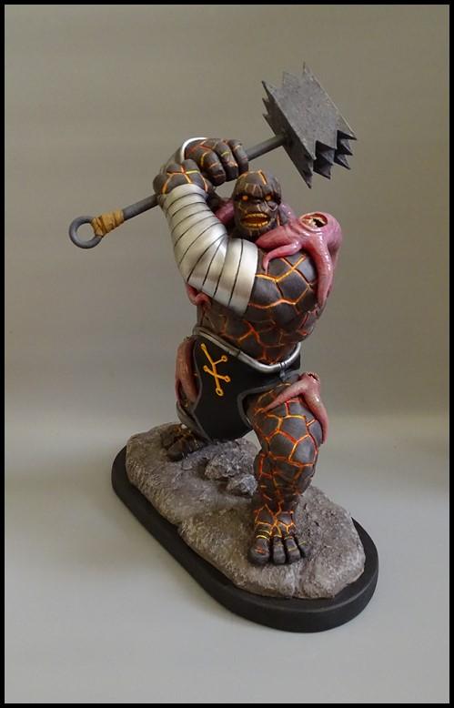 Angrir statue (Thing Fear itself) Angrir11